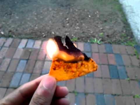 Burning Doritos