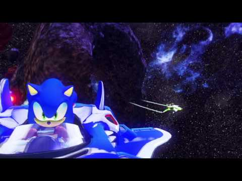 Sonic & All-Stars Racing Transformed - Danica Patrick Trailer