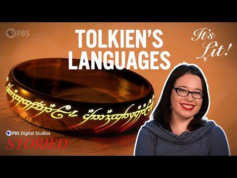 The Constructed Languages of JRR Tolkien (Feat. Lindsay Ellis) | It's Lit