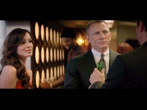 Skyfall James Bond 007 | Crack the Case Heineken spot (2012) Daniel Craig