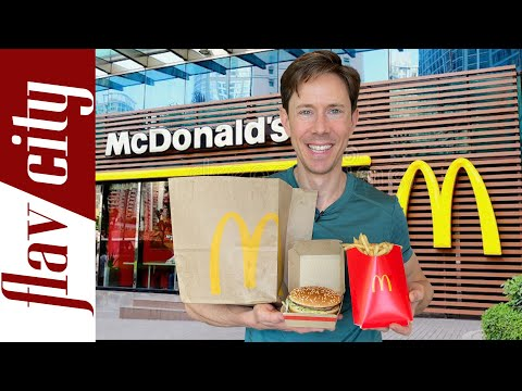 Is Anything Healthy At McDonald's? |With Full Menu Review