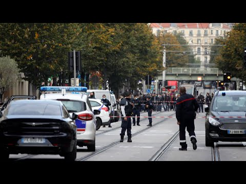 At least 3 killed in knife attack in France