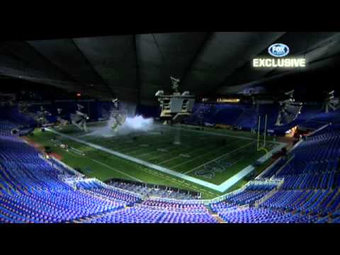 12-12-10 Metrodome Roof Collapse