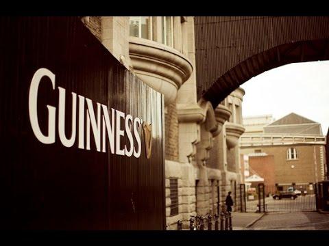 Inside the Guinness Storehouse in Dublin
