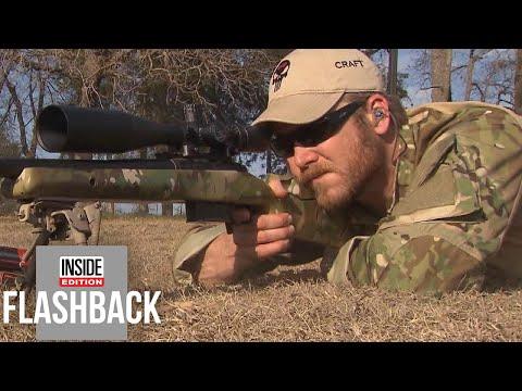 'American Sniper' Chris Kyle Talks Life at Home After War