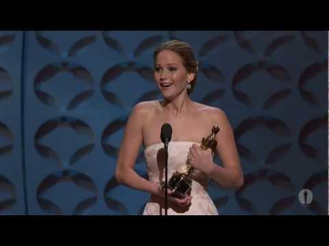 Jennifer Lawrence Wins Best Actress: 2013 Oscars