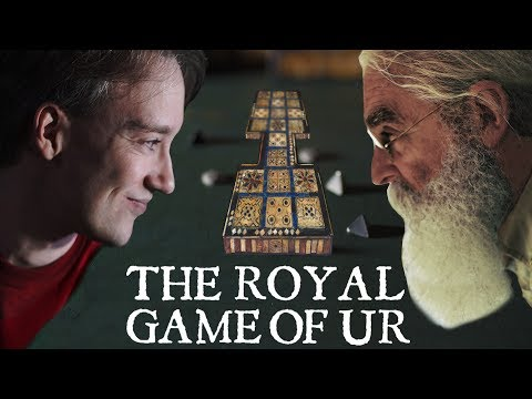 Tom Scott vs Irving Finkel: The Royal Game of Ur | PLAYTHROUGH | International Tabletop Day 2017