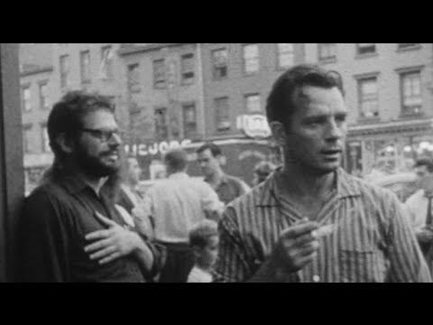 Beats in NYC (1959) - Allen Ginsberg, Jack Kerouac & Friends