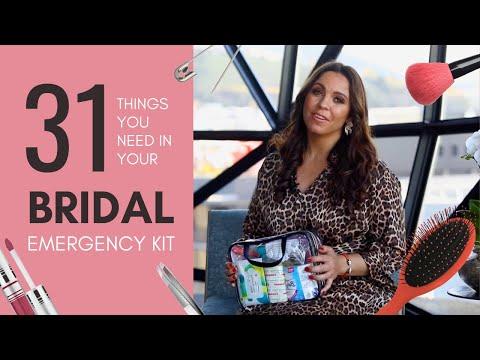 31 Things You NEED in Your Bridal Emergency Kit | Jadee McGowan & Pink Book Weddings