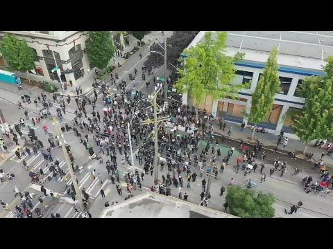 Inside Neighborhood Taken Over By Protesters