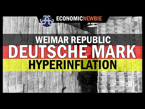 The German Hyperinflation History