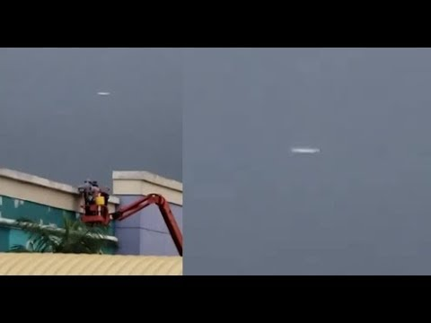 Unidentified Aerial Object Recorded Over Shopping Center in Panama