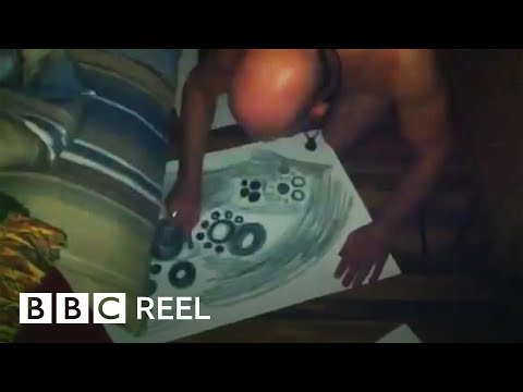 The man who makes art in his sleep - BBC REEL