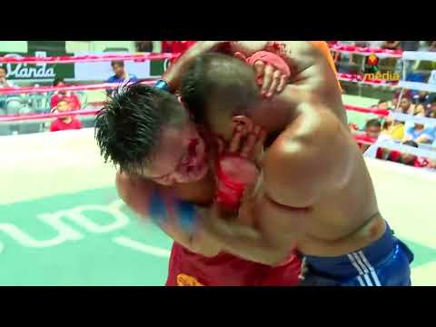CRAZY LETHWEI HEADBUTTS !!! Thway Thit Aung Vs Yan Naing Aung