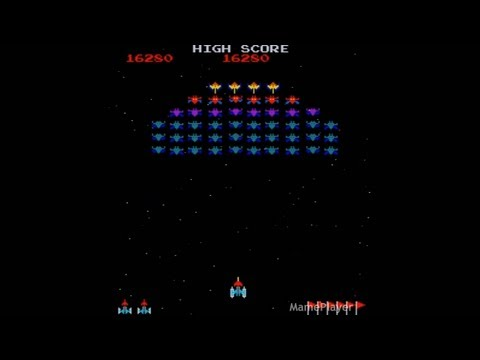 Galaxian 1979 Namco Mame Retro Arcade Games