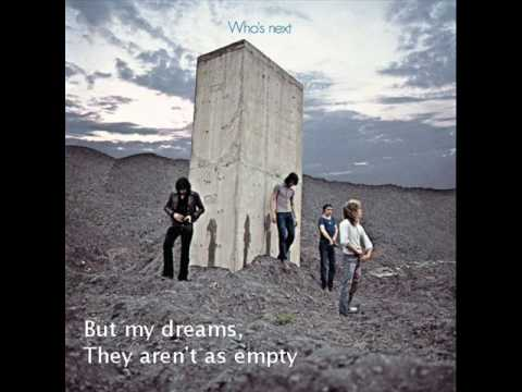 The Who- Behind Blue Eyes Lyrics Video