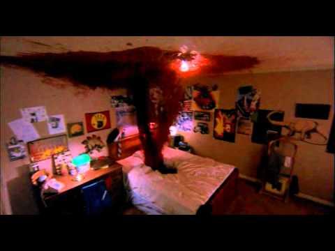Johnny Depp horror scene from a nightmare on elm street