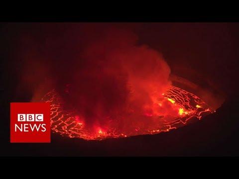 'I monitor Congo's deadliest volcano' - BBC News