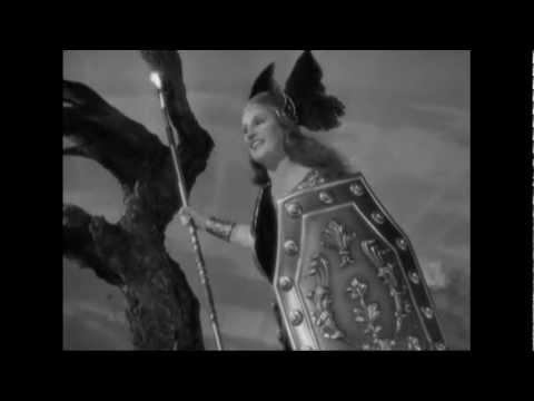 "Kirsten Flagstad - Brünnhilde's battle cry ""Ho jo to ho !"" (Die Walküre, Wagner)"