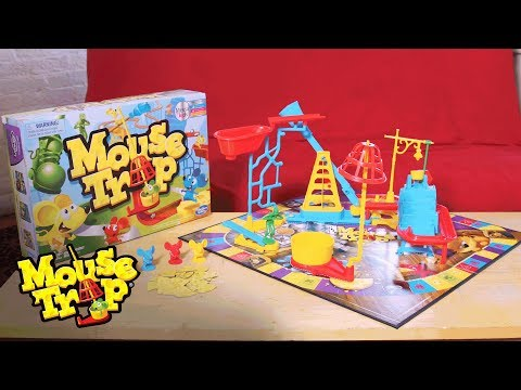 How to Build the Trap in the Mouse Trap Game 🐭 - Hasbro Gaming