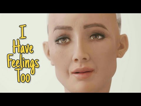 Sophia The Robot says 'I have feelings too' | Artificial intelligence