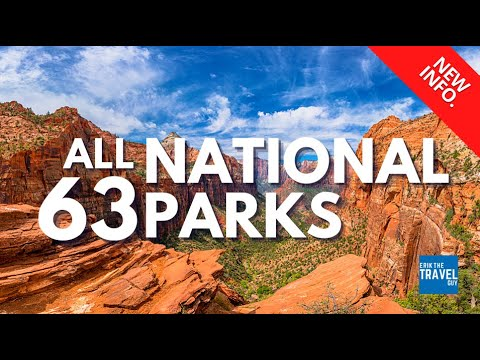 All 63 National Parks In One Video!