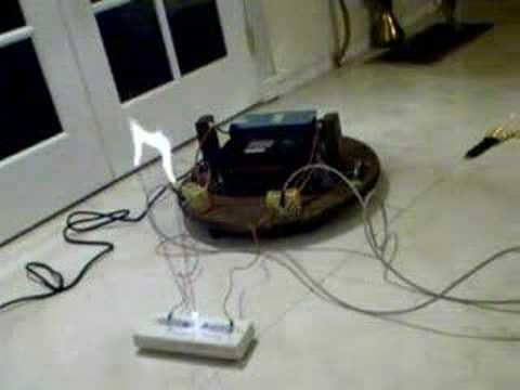2 kilowatt Jacob's Ladder. 15,000 volts