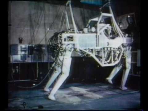 GE Walking Truck - Cybernetic Anthropomorphous Machine (CAM) 1969.