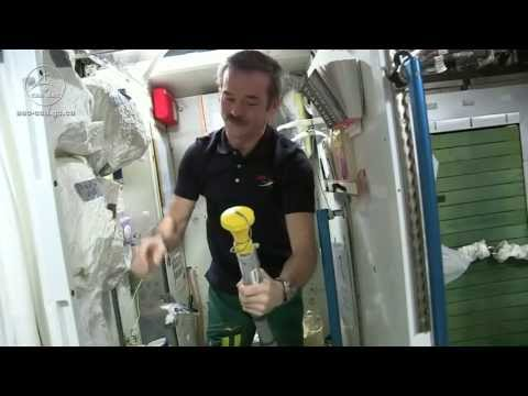 Astronauts Drink Urine and Other Waste Water   Video