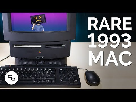 Rare 1993 Macintosh TV Exploration (and Logic Board Swap) - Krazy Ken's Tech Misadventures
