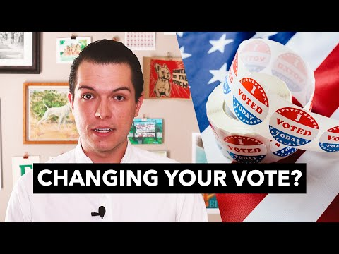 Do most states let you change your vote? No.