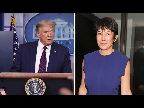 President Donald Trump on Ghislaine Maxwell: 'I Wish Her Well' | NBC New York