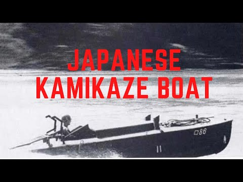 The Shinyo Kamikaze Boat - Japan's World War 2 Desperation