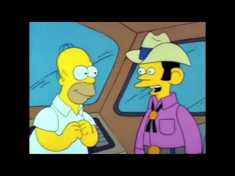 Homer buys an RV