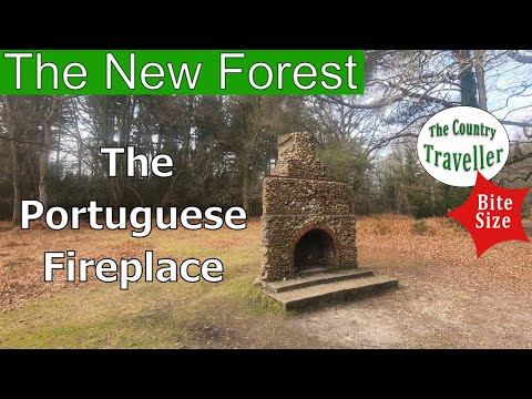 The New Forest Portuguese Fireplace #NewForestHistory