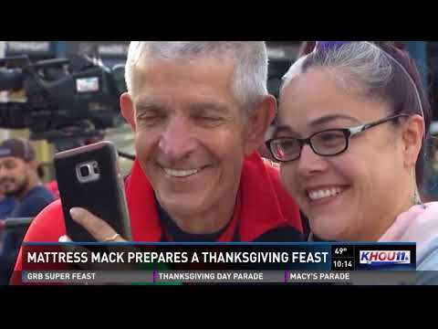 Mattress Mack feeds Thanksgiving meals to thousands