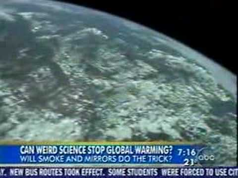 Mirrors in Space to Stop Global Warming?
