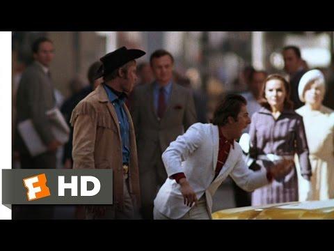 Midnight Cowboy (2/11) Movie CLIP - I'm Walkin' Here (1969) HD