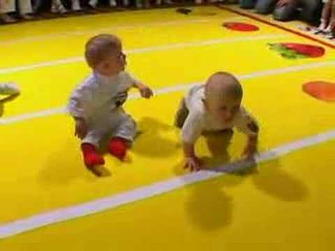 Baby racing in Lithuania