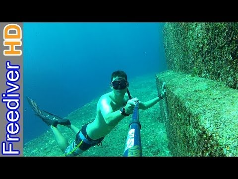 Freediving Yonaguni Pyramid | Aliens or Lost Civilization? | Yonaguni Monument