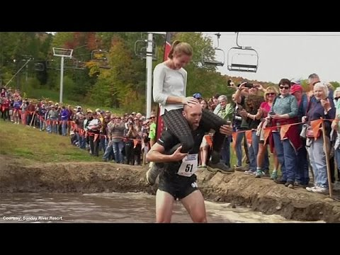 USA: wife-carrying competition