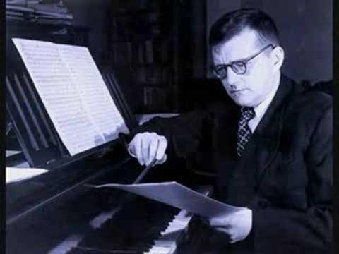 Shostakovich plays Prelude and Fugue No. 4 in E minor