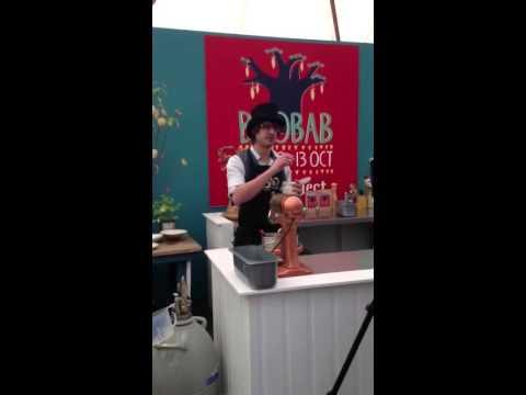 Charlie Harry Francis the mad food inventor talks baobab