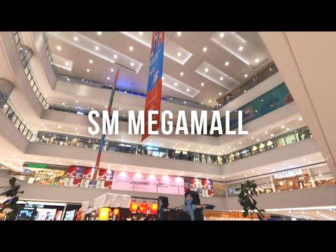 [4K] SM Megamall Walking Tour and Buying dinner at Panda Express | Philippines 🇵🇭 July 2020