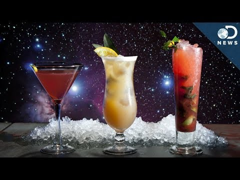 There Is Alcohol In Space!