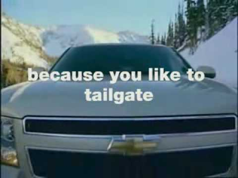 My Chevy Tahoe Ad