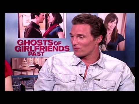 Matthew McConaughey Talks Real Ghost in his House - Madaam Blu | ScreenSlam