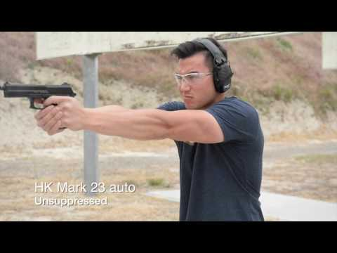 Silencer gun test