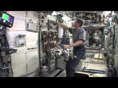 Cycling on the International Space Station With Astronaut Doug Wheelock