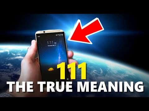 If You're Seeing 111, THEN WATCH THIS! | 111 MEANING (ANGEL NUMBERS)
